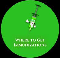 Where to get Immunizations