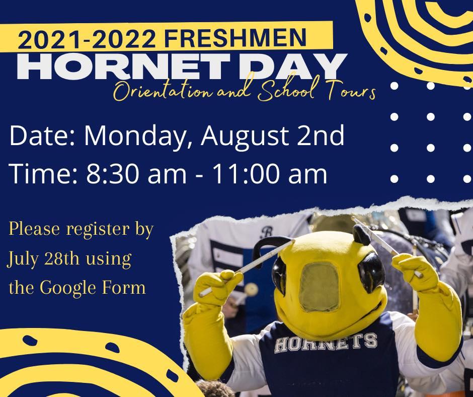 Freshmen Hornet Day