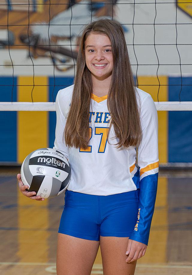 Freshman Ashley Shroades