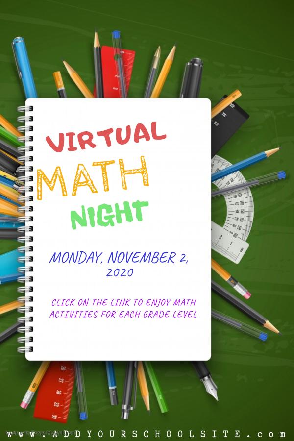 virtual math night link