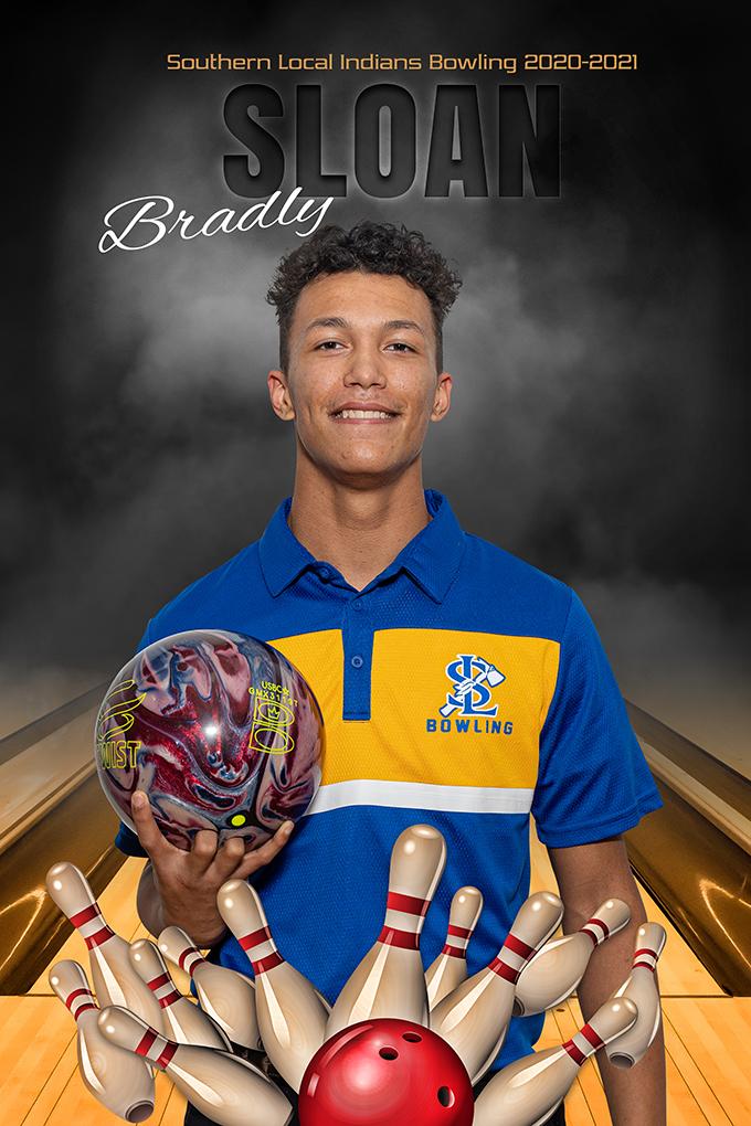 Senior Bradley Sloan