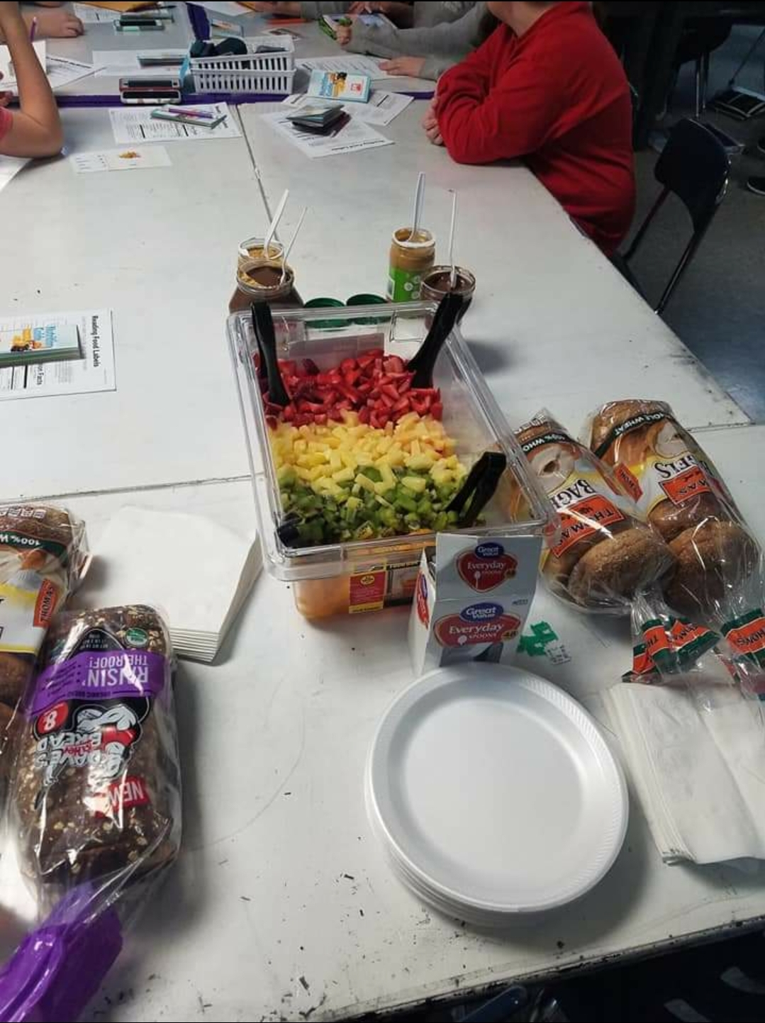 DMS Food Labels/Healthy Snack