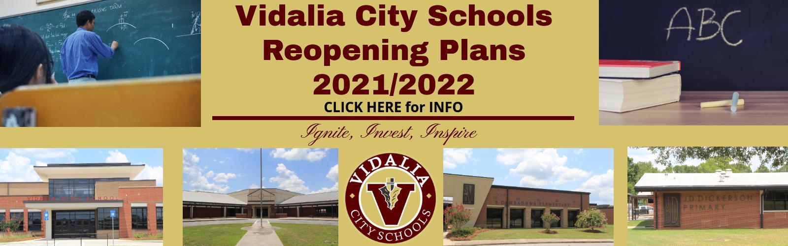 2021 Reopening Plan