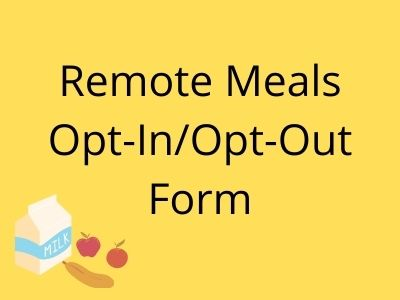 Remote Meal Form
