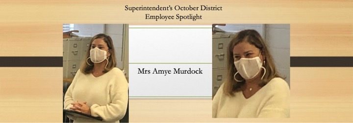 District Employee October 2020 Spotlight