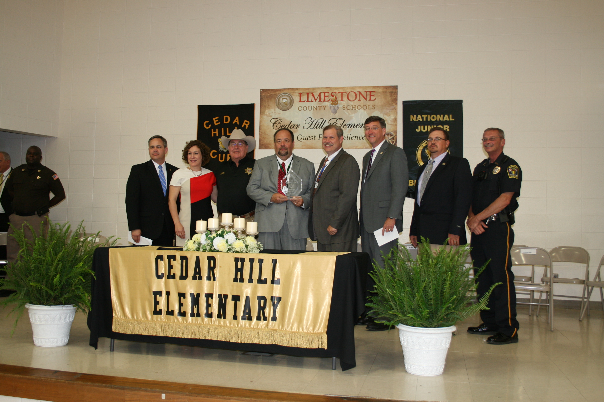 CHES Wins Safety Award