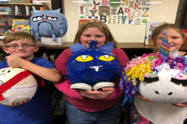 Glen Martin Elementary Pumpkin Contest Winners