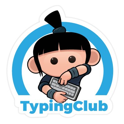 Typing Club logo link