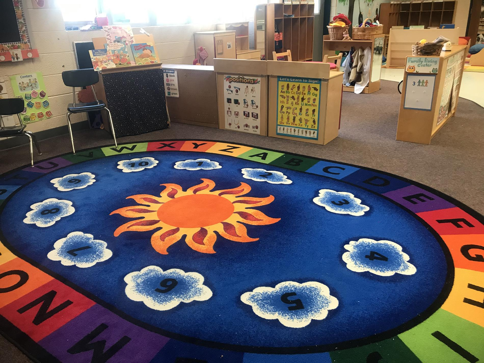 Preschool carpet