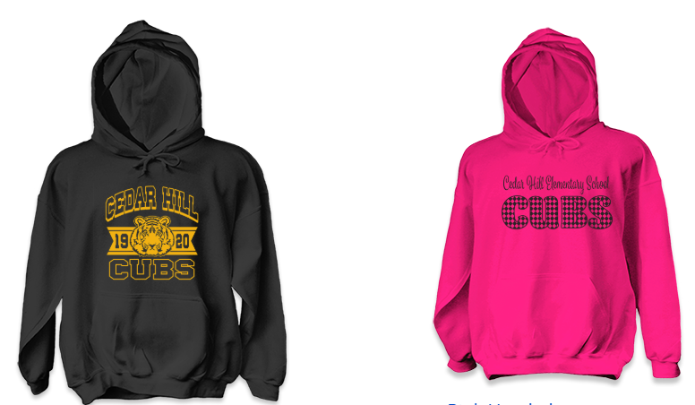 Hoodies for those cold days