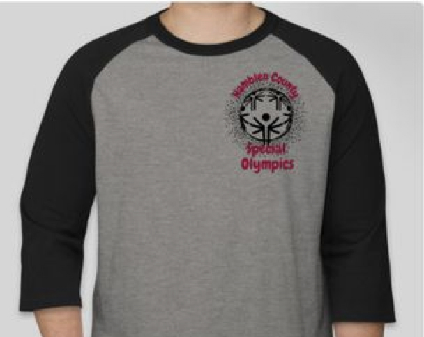 Special Olympics Shirt Front