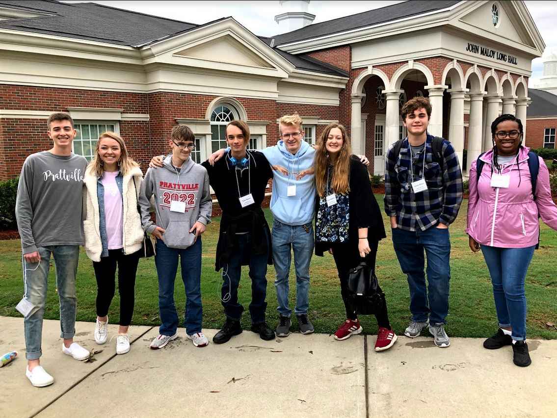 Broadcasting students attend J-Day at Troy University