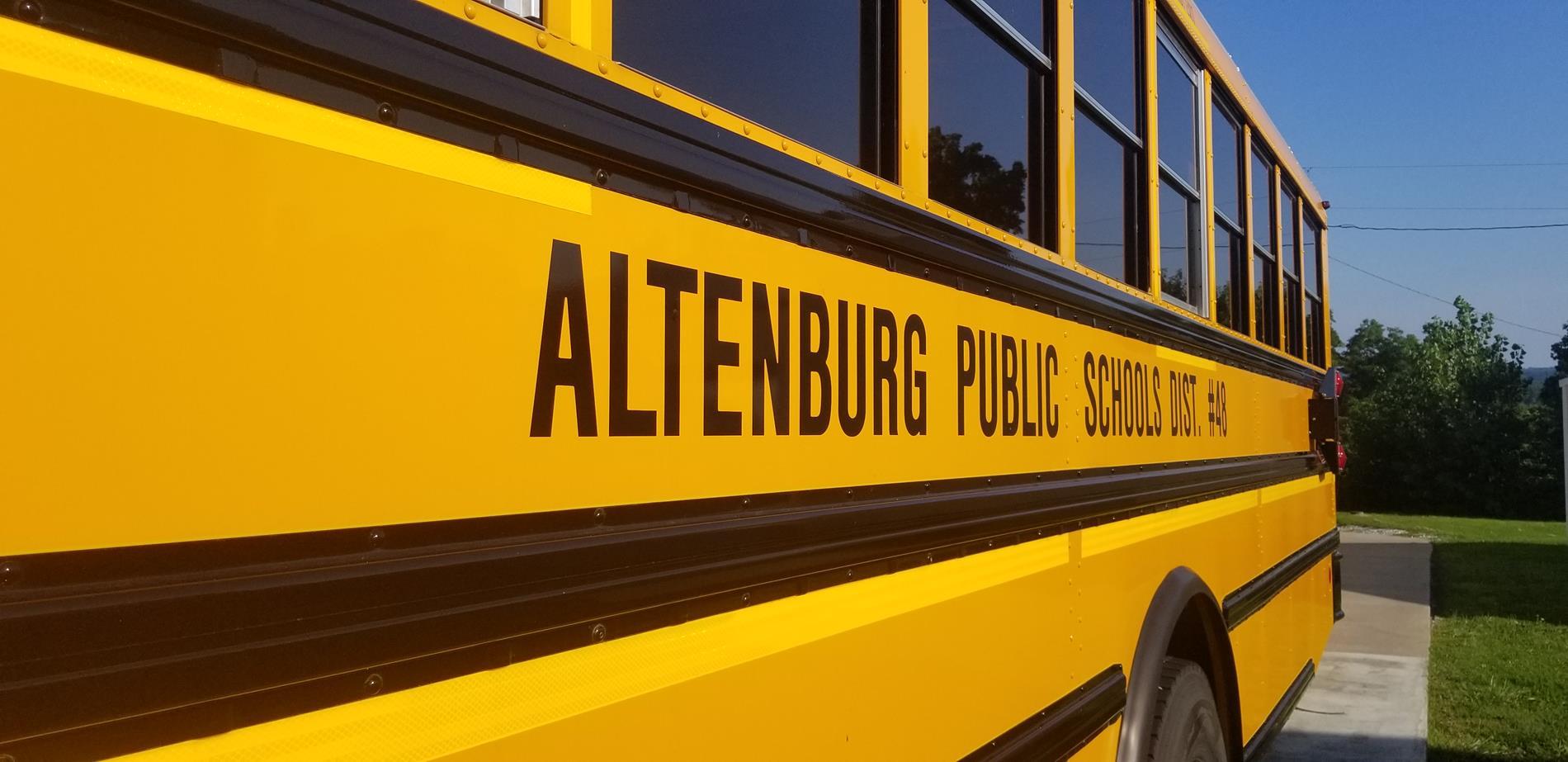 Altenburg Public School Bus