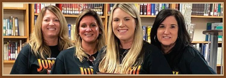 Mrs. Sarah Boles and School Administrators