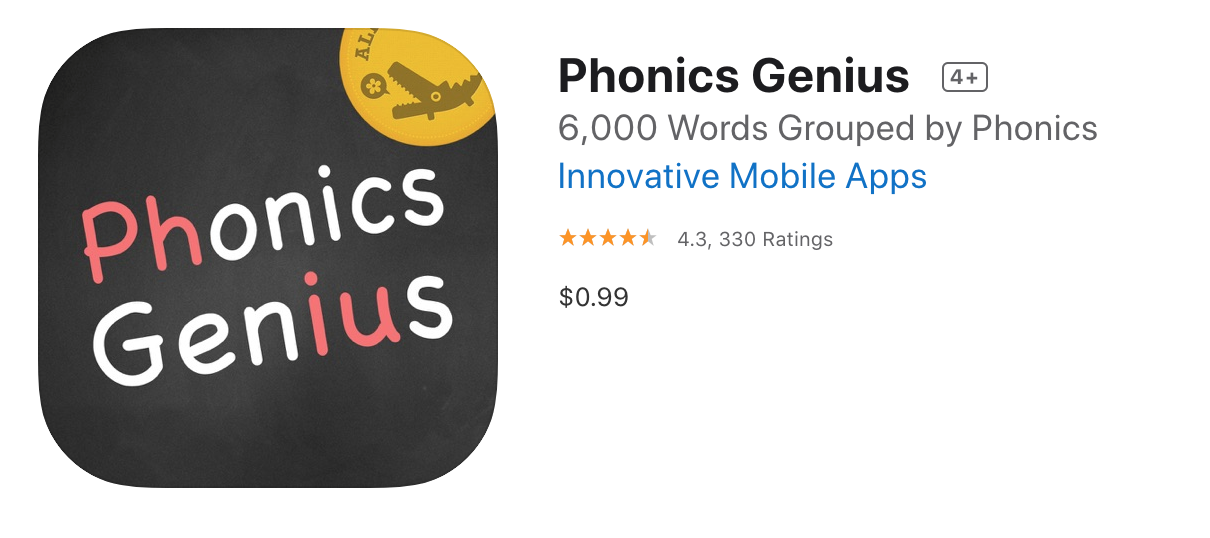 Phonics Genius App