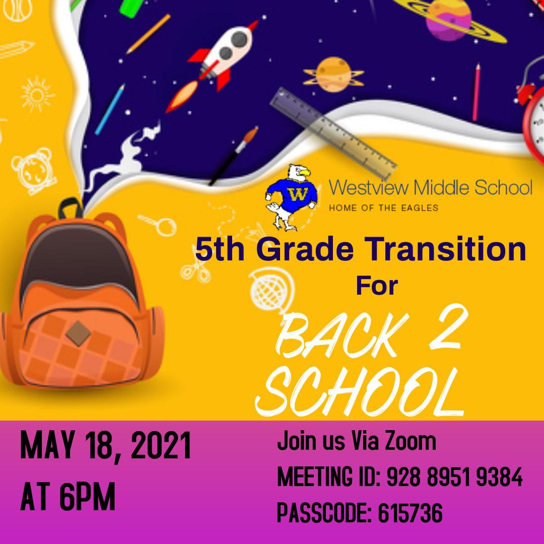5th Grade Transition WMS