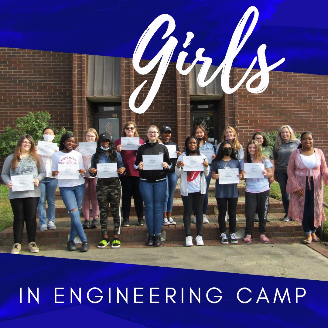 Girls in Engineering Camp 2021