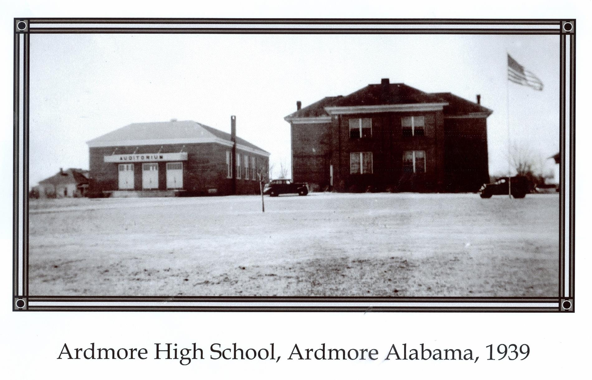 Ardmore High 1939