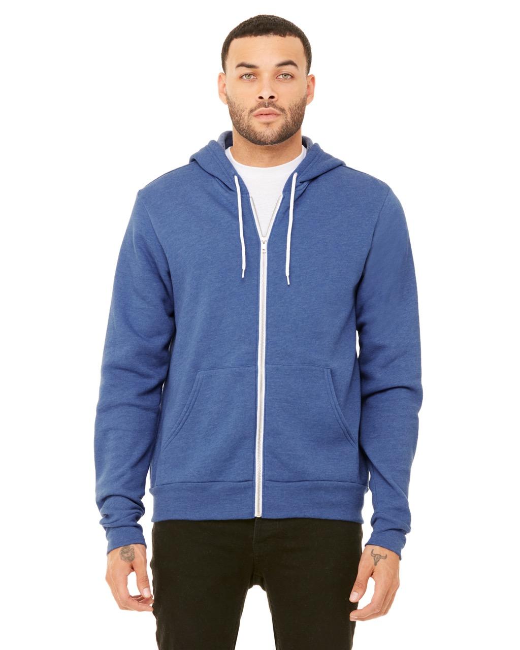 Adult zip-up hoodie