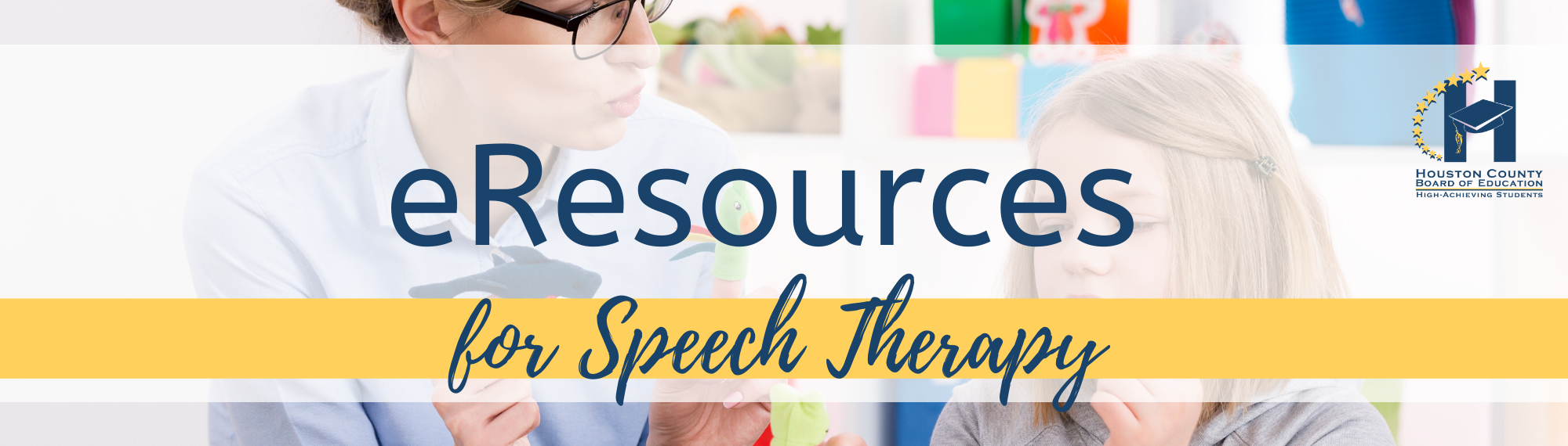 eResources for Speech Therapy