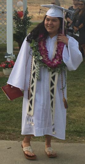 Rose Burrows graduate 2021
