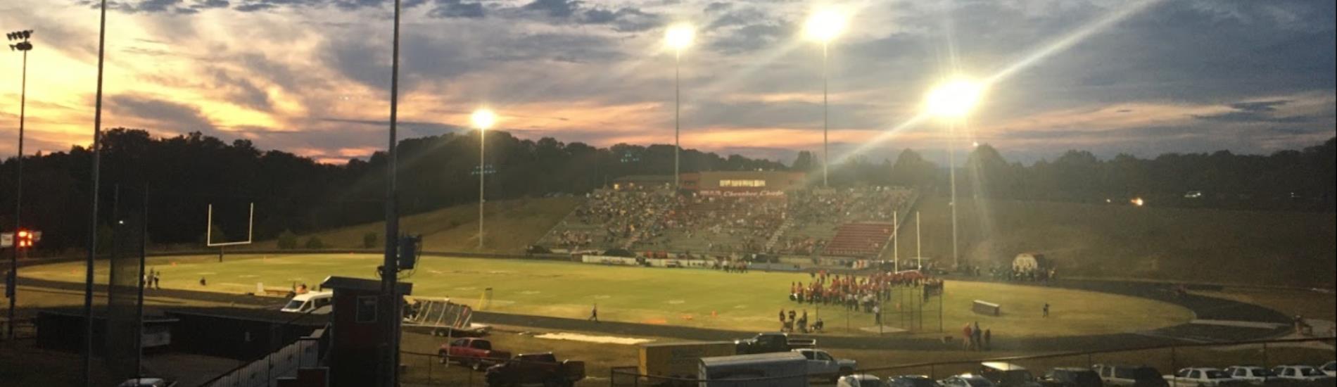 Cherokee high school football field