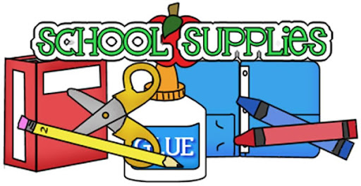 school supply list 2021-22
