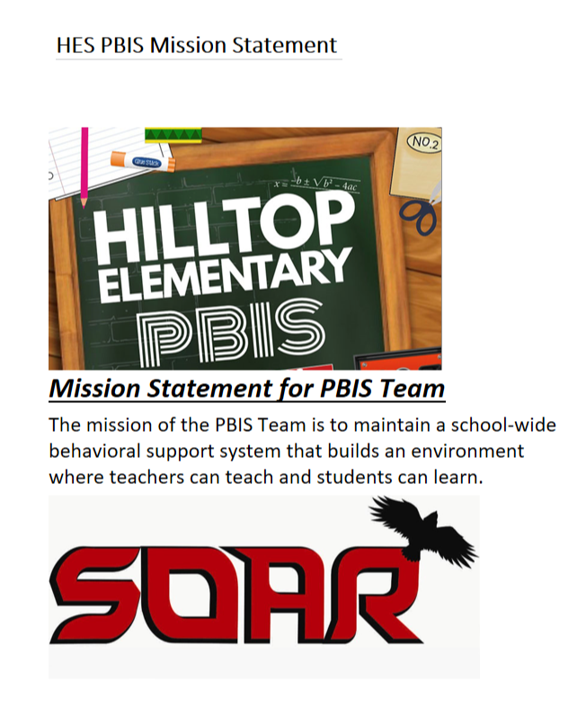 PBIS Mission Statement
