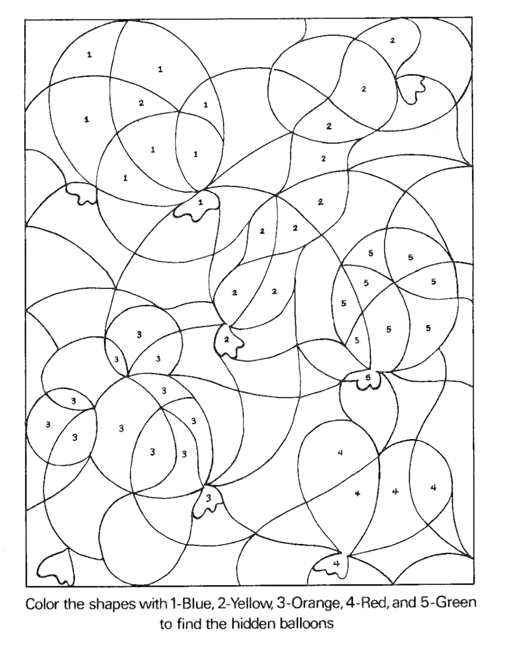 Scavenger hunt coloring pages | 1276x986