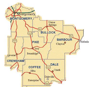 Pike County Map