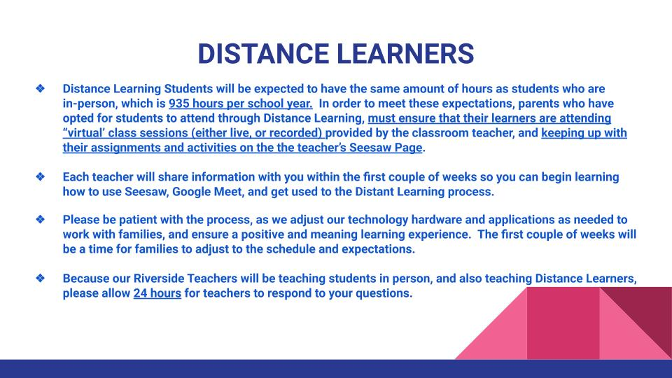 Distance Learners 2