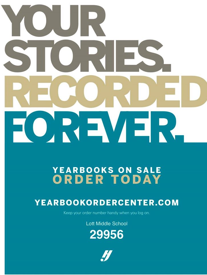 Purchase a yearbook online! The deadline to purchase is March 20, 2020!