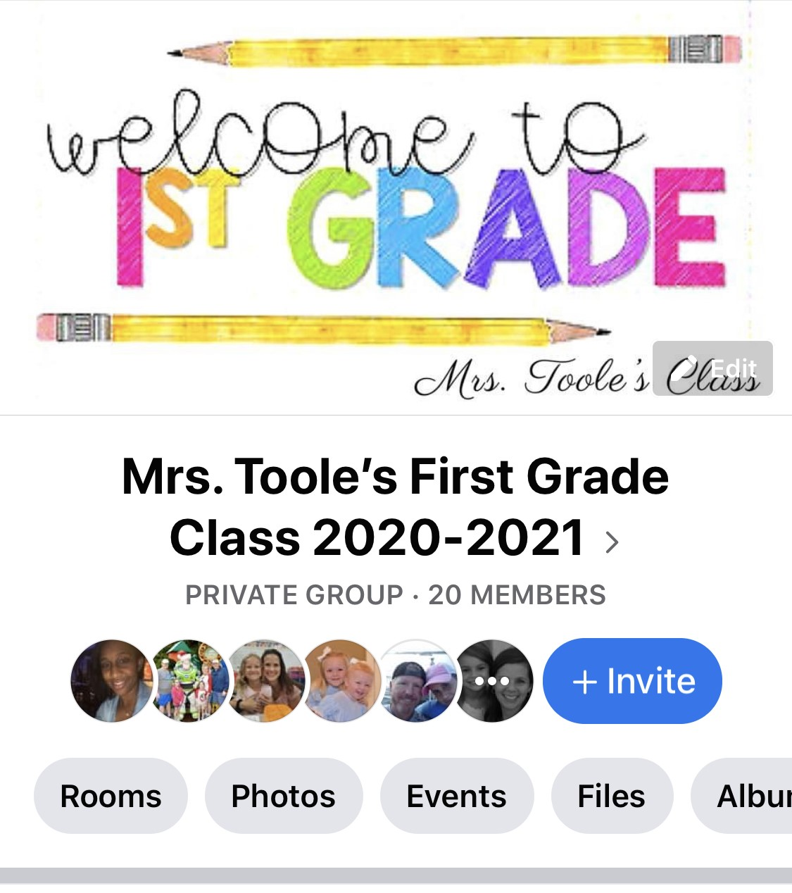 Sign up for our private Facebook Group
