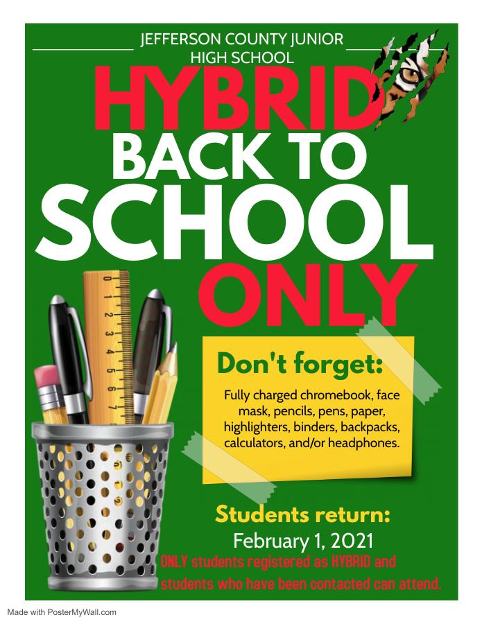 Hybrid for February