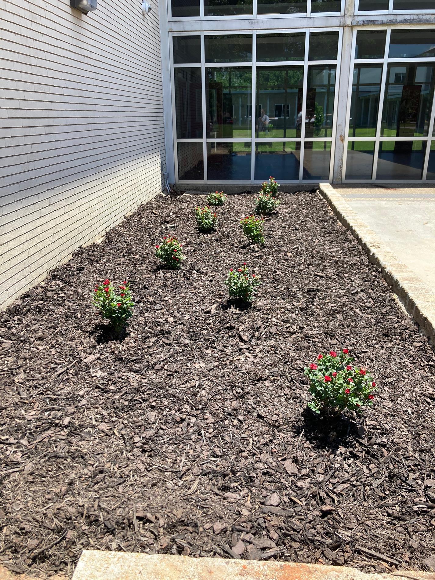 jrotc flower beds