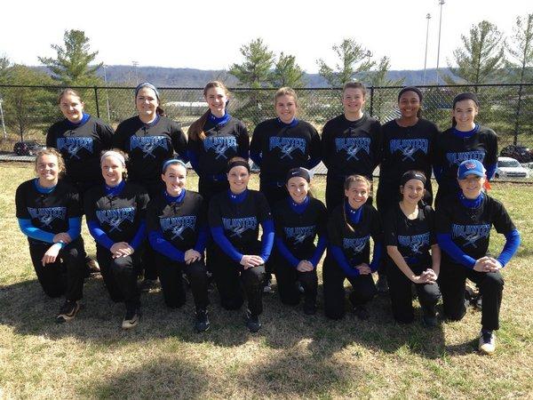 Volunteer Falcons Softball team
