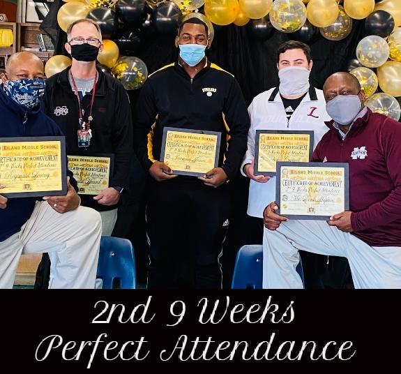 Perfect Attendance Teachers