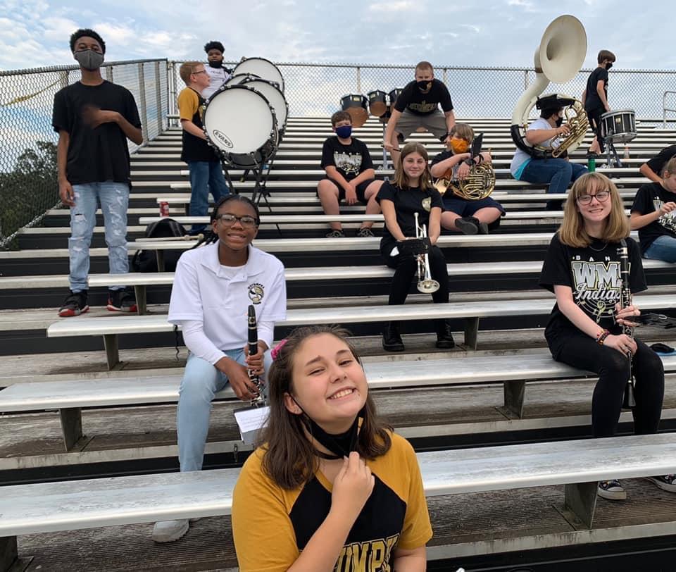 8th Grade Band at WMS Football