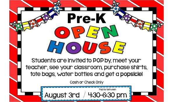 PreK Open House