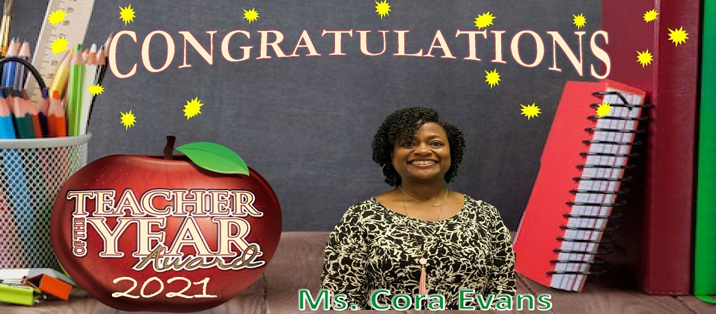 EVANS TEACHER OF THE YEAR