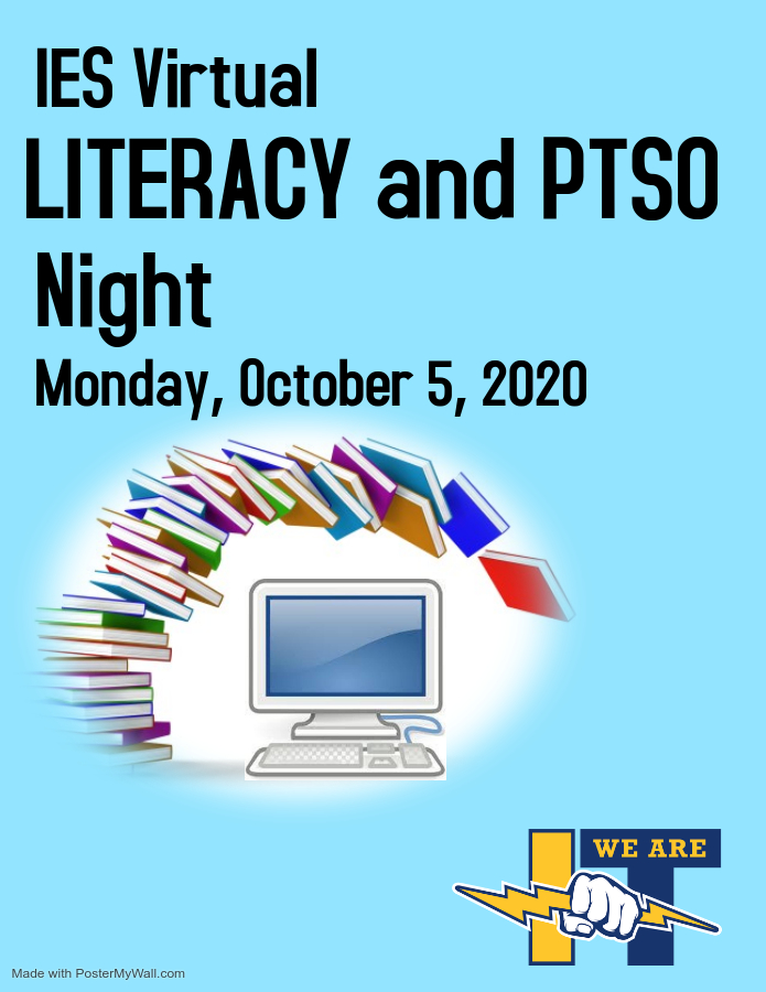 PTSO and literacy night link