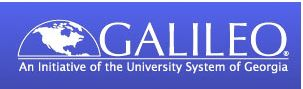 GALILEO Databases logo