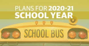 plan for 20-21 school year clip art graphic