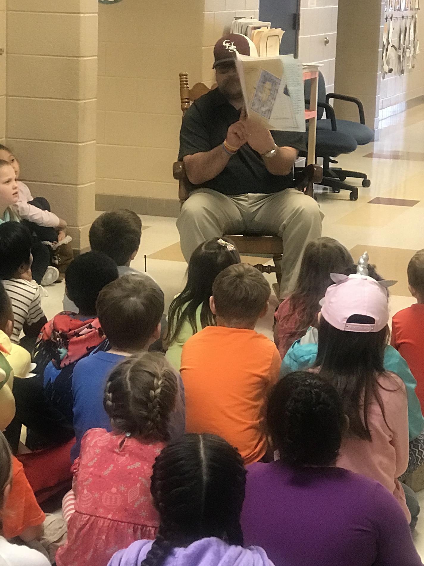 RAA Week-Mr.Baker read to us!