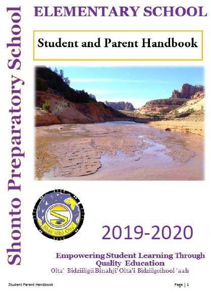 K-8 Handbook cover