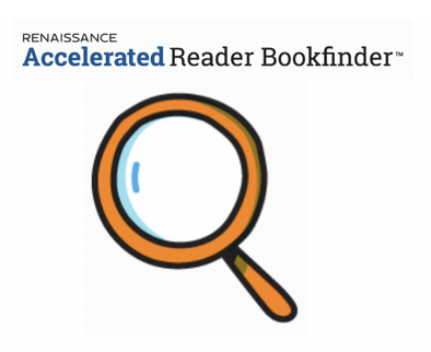 magnifying glass for AR Bookfinder Website