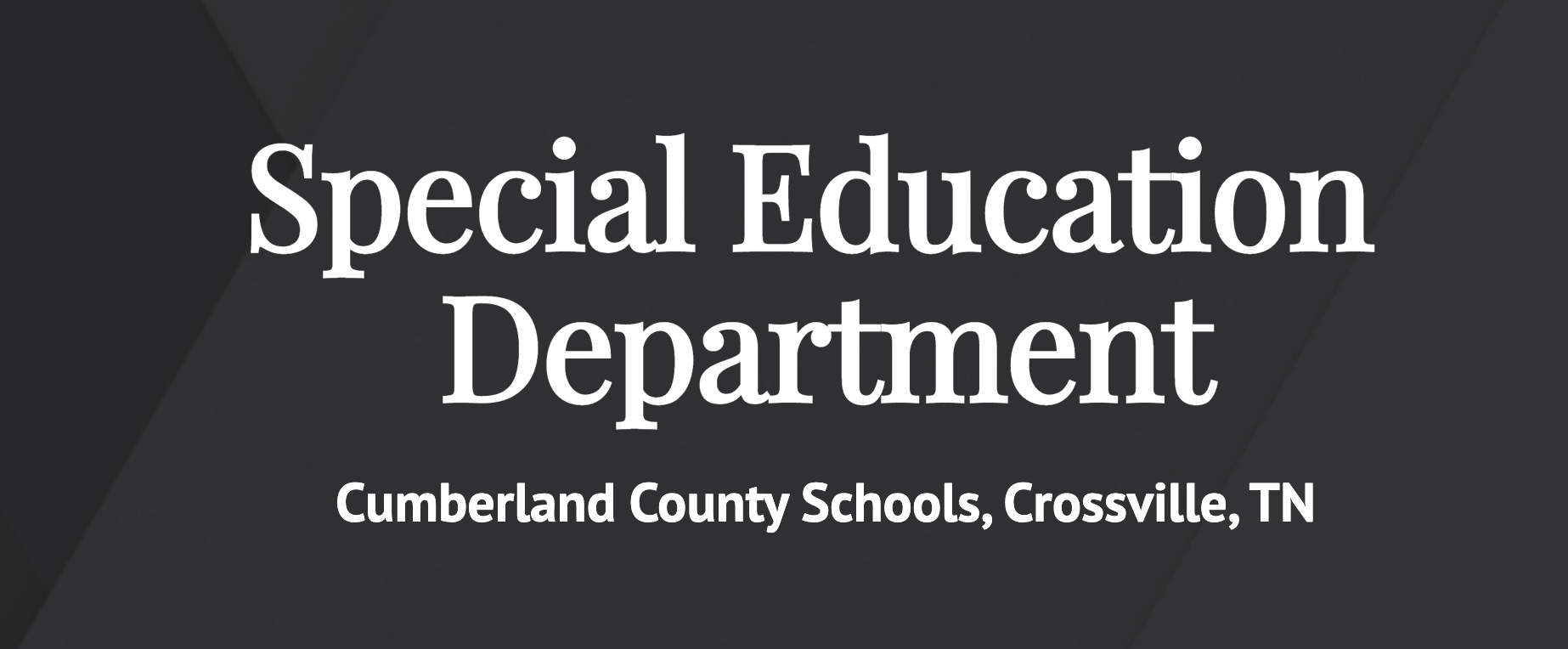 Special Education Website