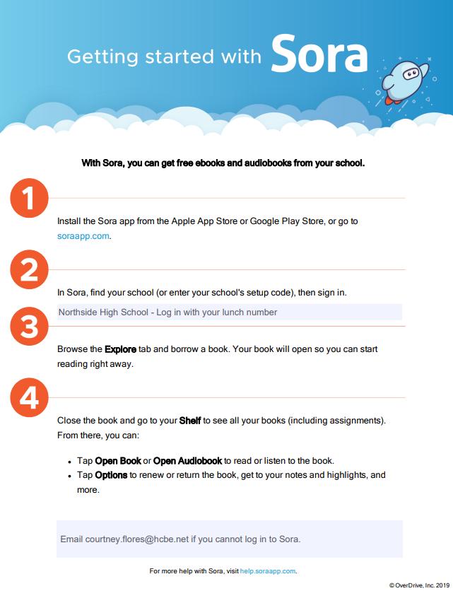Sora ebooks information