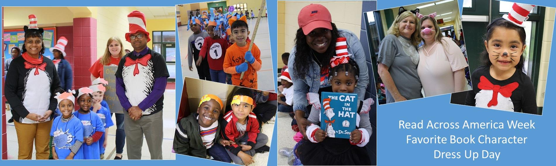 Read Across America Week - Book Character Dress Up Day