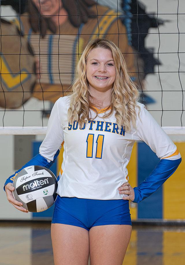 Freshman Hannah Reynolds